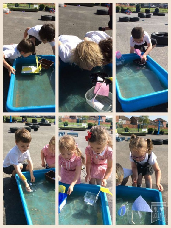 We had great fun with the boats we designed