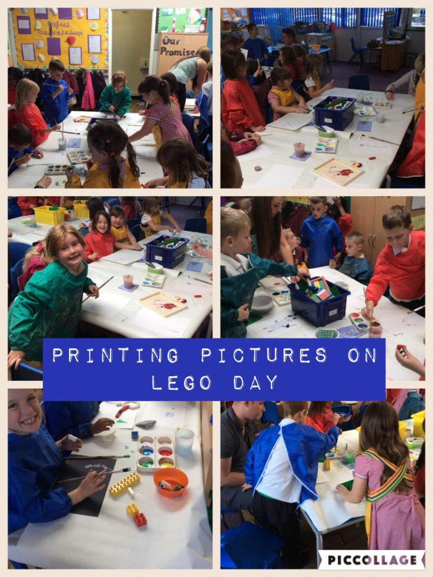 Fun with Lego in Everest class