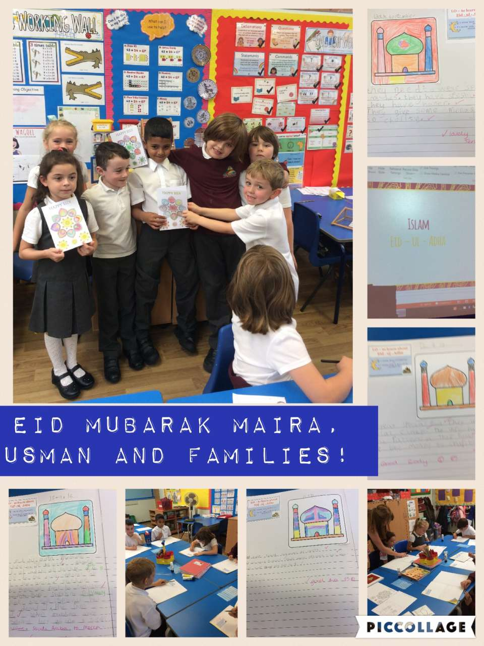 We all enjoyed finding out about Eid today